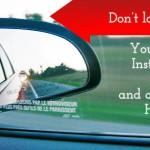 Don't look back! Look forward…