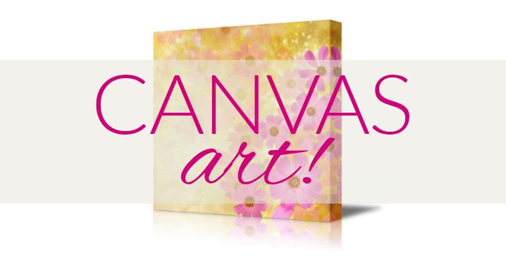 Your photos on CANVAS!