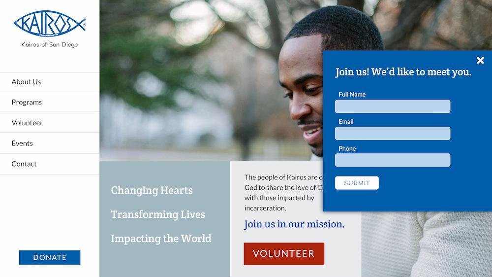 Kairos: sharing the transforming love of Jesus